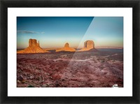 Monument Valley HDR (16 of 21) Picture Frame print