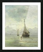 Kalme zee Picture Frame print