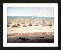 Scheveningen in 1880 Picture Frame print