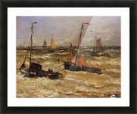 Ships For Anchor Sun Picture Frame print