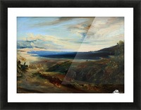 Meeresbucht in Italien Picture Frame print