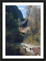 Schlucht bei Amalfi, 1831 Picture Frame print