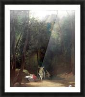 Badende Madchen im Park von Terni Picture Frame print