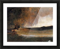The Bay of Rapallo Picture Frame print
