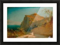 Tiberiusfelsen auf Capri Picture Frame print