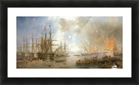 The Bombardment of Sveaborg Picture Frame print