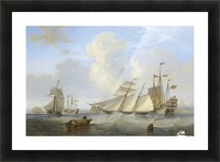Lots of boats by the sea Picture Frame print