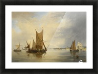 Sailing on the sea Picture Frame print