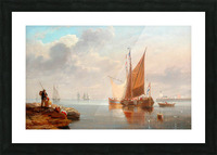 Dutch Fishing Boats Picture Frame print