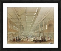 Newcastle great hall Picture Frame print