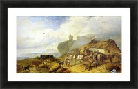 The Drover's Halt, island of Mull Picture Frame print