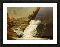 Waterfall in the Neath Valley Picture Frame print