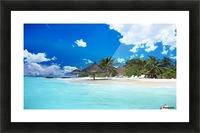beach Picture Frame print
