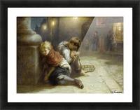 Fatigued Minstrels 1883 Picture Frame print