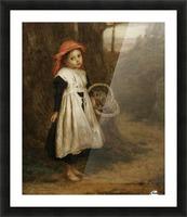 A Little Violet Seller 1877 Picture Frame print