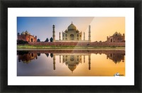Visit India Picture Frame print