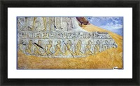 Captives of Ramses II Picture Frame print