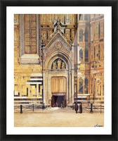 The South Door of the Duomo 1881 Picture Frame print
