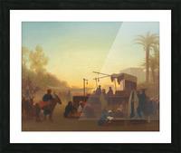 Marche au Caire Picture Frame print