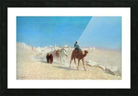 Jerusalem Cote de la Porte de Jaffe Picture Frame print