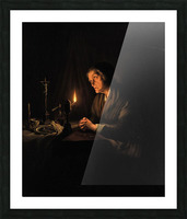 The evening prayer Picture Frame print