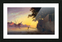 Evening on the Nile Picture Frame print