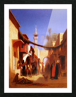 Street in Cairo Picture Frame print