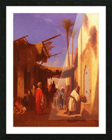 Street in Damascus Picture Frame print