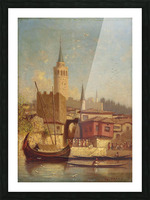 The Galata Tower, Constantinople Picture Frame print