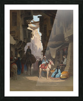 The Souk Picture Frame print