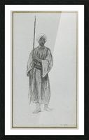 Arab sentinel Picture Frame print