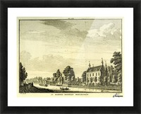 Ridderhofstad Boelestein Picture Frame print