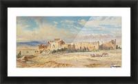 Ruines de Baalbeck Picture Frame print