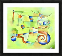 Frenesia - mad world Picture Frame print