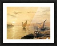 Gebel El Silsilis 1838 Picture Frame print