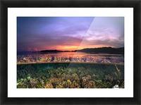 Raja Ampat sunrise Picture Frame print