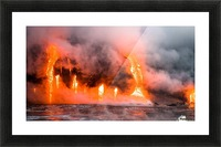 Hawaii Lava  Picture Frame print