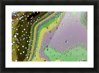 Raindrops 4   Picture Frame print