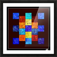 Ecleptios - colourful world Picture Frame print