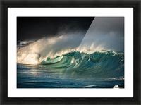 Waimea Picture Frame print