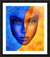 Frescanilla - the mirage Picture Frame print