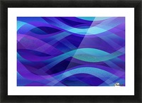 Abstract Background G143 Picture Frame print