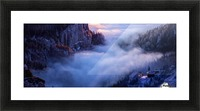 Alone Against all Darkness II Picture Frame print