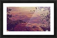 prayingrock Picture Frame print