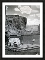 IN THE GRAND CANYON Picture Frame print