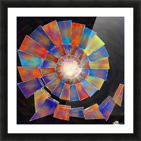 Volsopolis - forgotten future Picture Frame print