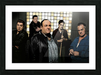 The Sopranos  Picture Frame print