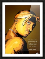 Tupac Picture Frame print