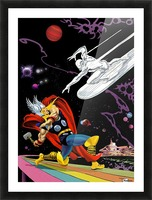 Marvel: Thor vs The Silver Surfer Picture Frame print