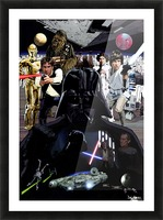 Star Wars  Picture Frame print